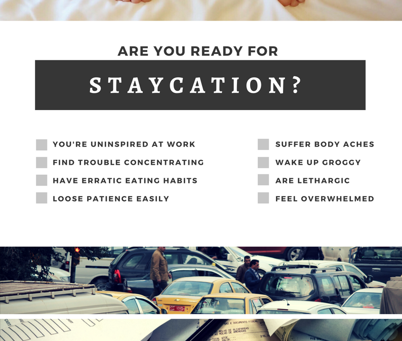 Staycation: A mini-retreat in the heart of Denver with Elise on July 30th