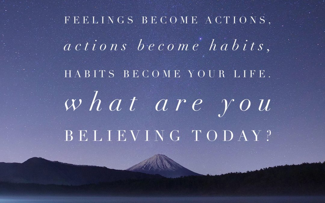 Why you're not taking action.